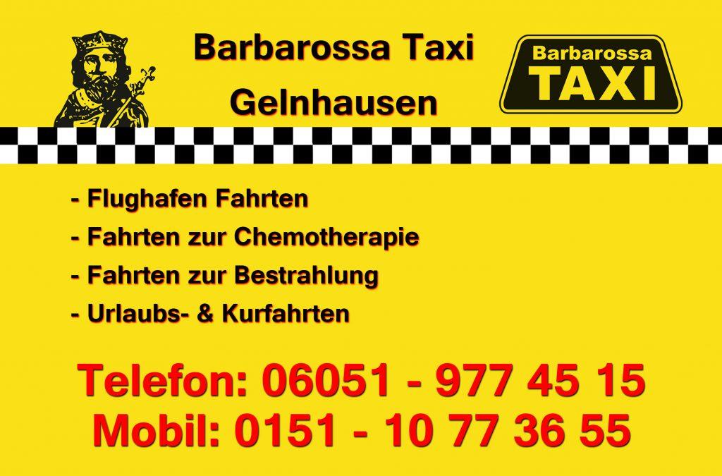 Barbarossa Taxi Gelnhausen